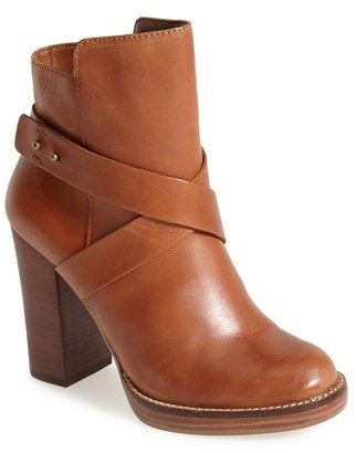 e8148a046 Steve Madden 'Sizzzlee' Leather Platform Bootie (Women) on shopstyle.com