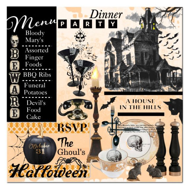 Halloween Party Decor\ - frontgate halloween