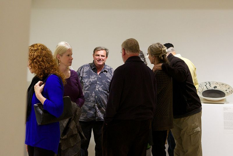 Opening Reception, Resurfaced and Reformed Ceramics Show