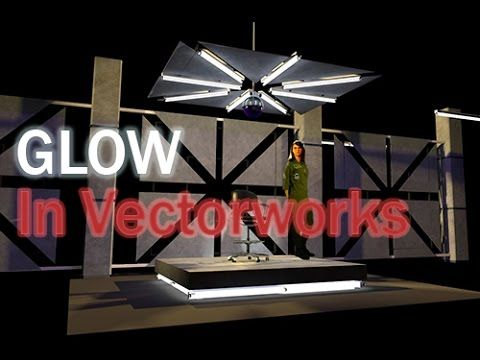Fluorescent and neon lights in vw youtube vectorworks
