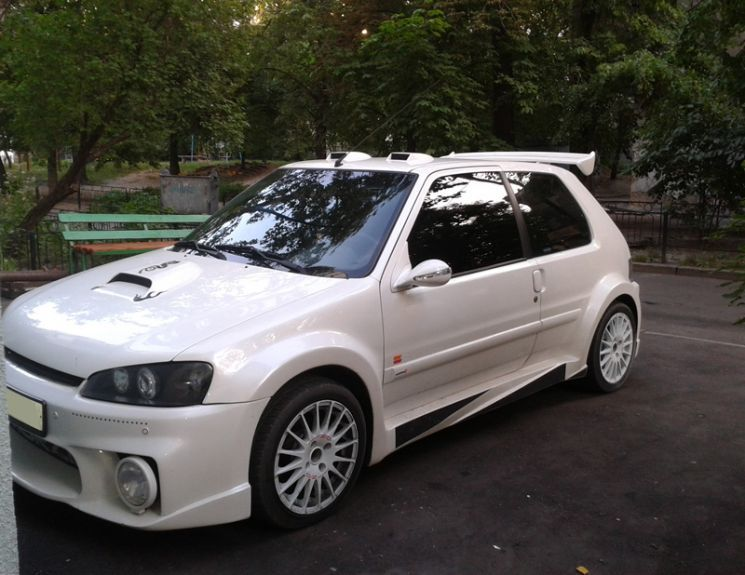 photo album tuned peugeot 106 tunezup tuned cars. Black Bedroom Furniture Sets. Home Design Ideas