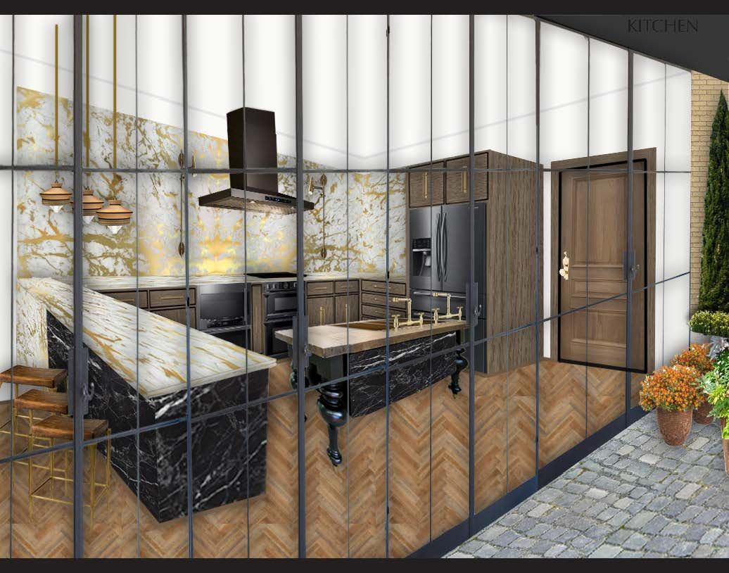 3d Perspective Built In Autocad And Photoshop With Images