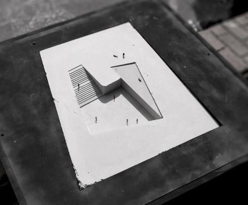 modelarchitecture:  Propuesta para el Museo Regional de Atacama / David Rodriguez Arquitectos + Combeau De Iruarrizaga Arquitectos