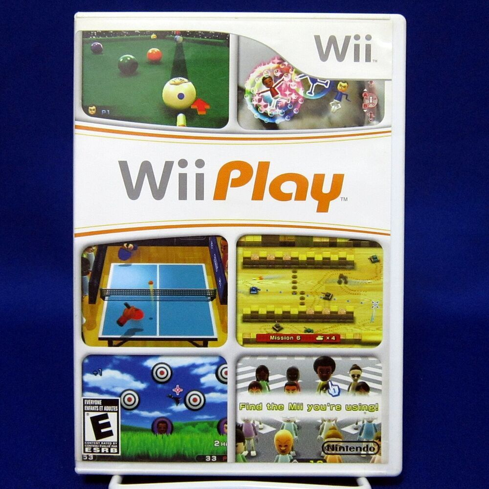 Wii Play Complete Tested 2007 Nintendo In 2020 With Images Wii