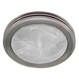 harbor 2 sone 80 cfm nickel bathroom fan with light2 sone