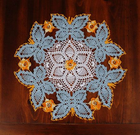DIY Crochet Lace Doily Patterns   Crochet butterfly, Free crochet ...
