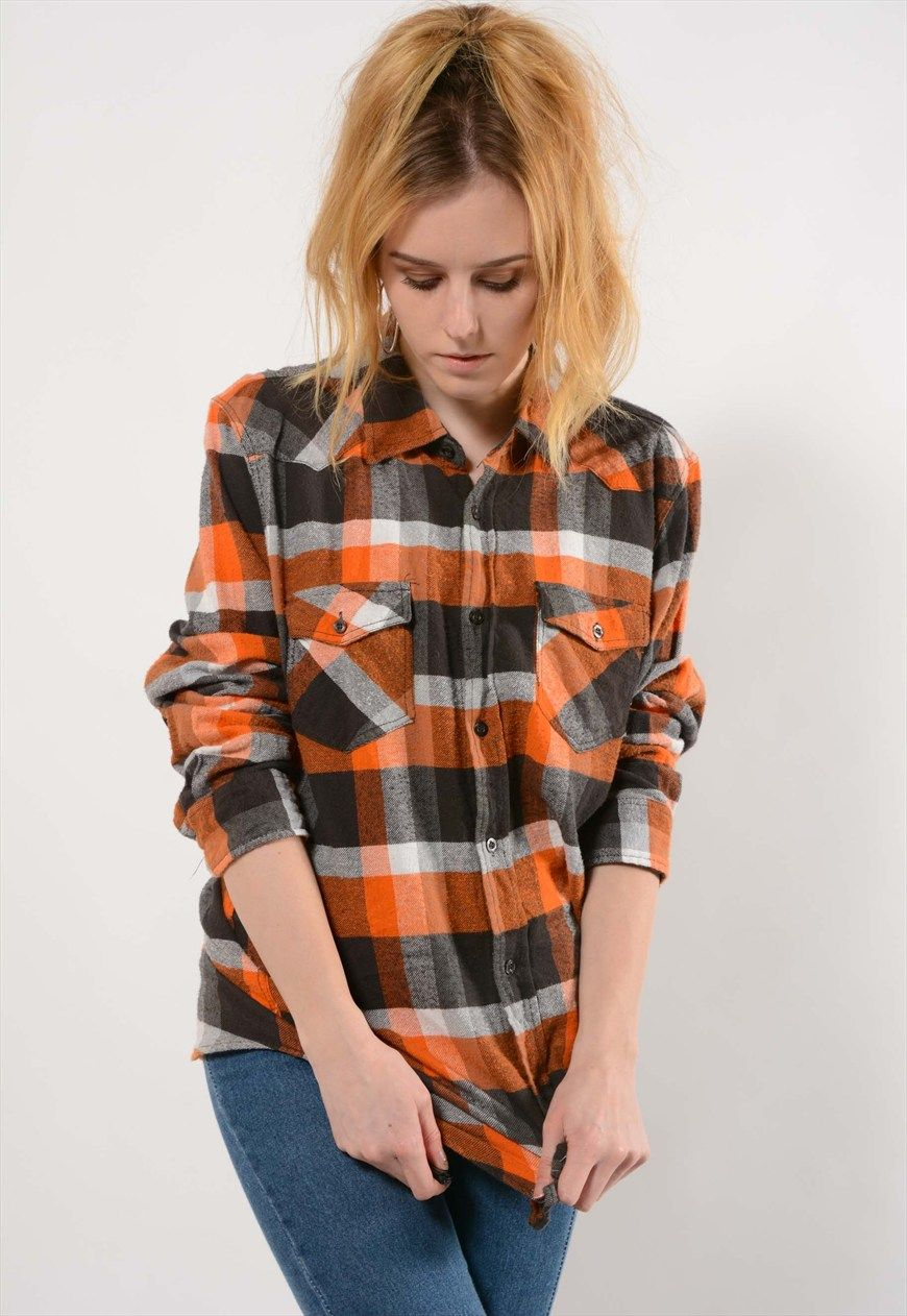 Flannel shirts 1990s  Vintage Checked Flannel shirt  Best Days Vintage  ASOS Marketplace
