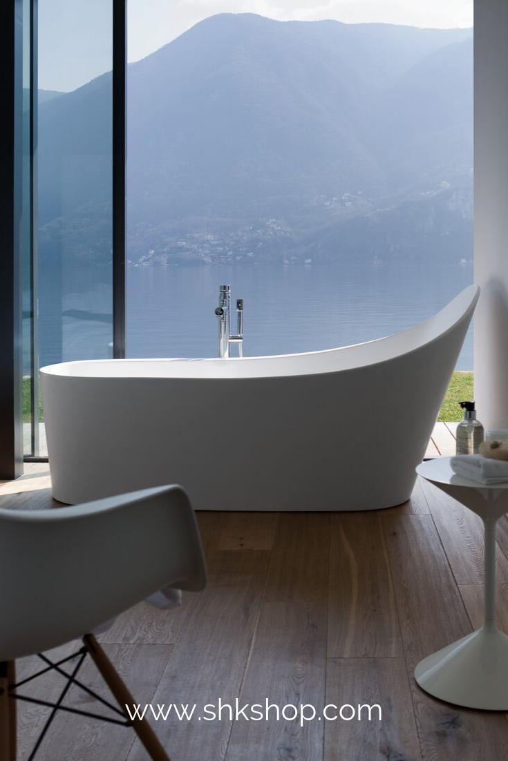 Laufen Badewanne Palomba Freistehend 1835x960x540 Wei Mit Unterwasserbeleuchtung In 2020 Badewanne Badezimmer Klein Und Badezimmer Dekor