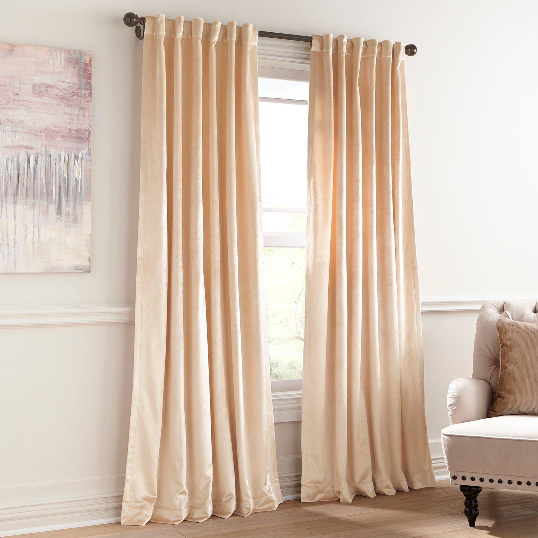 Shiny Velvet Pearl Curtain In 2020 White Velvet Curtains