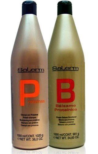 Salerm Protein Shampoo and Balsam Conditioner 36oz Duo SET by Salerm ** Find out more about the great product at the image link.