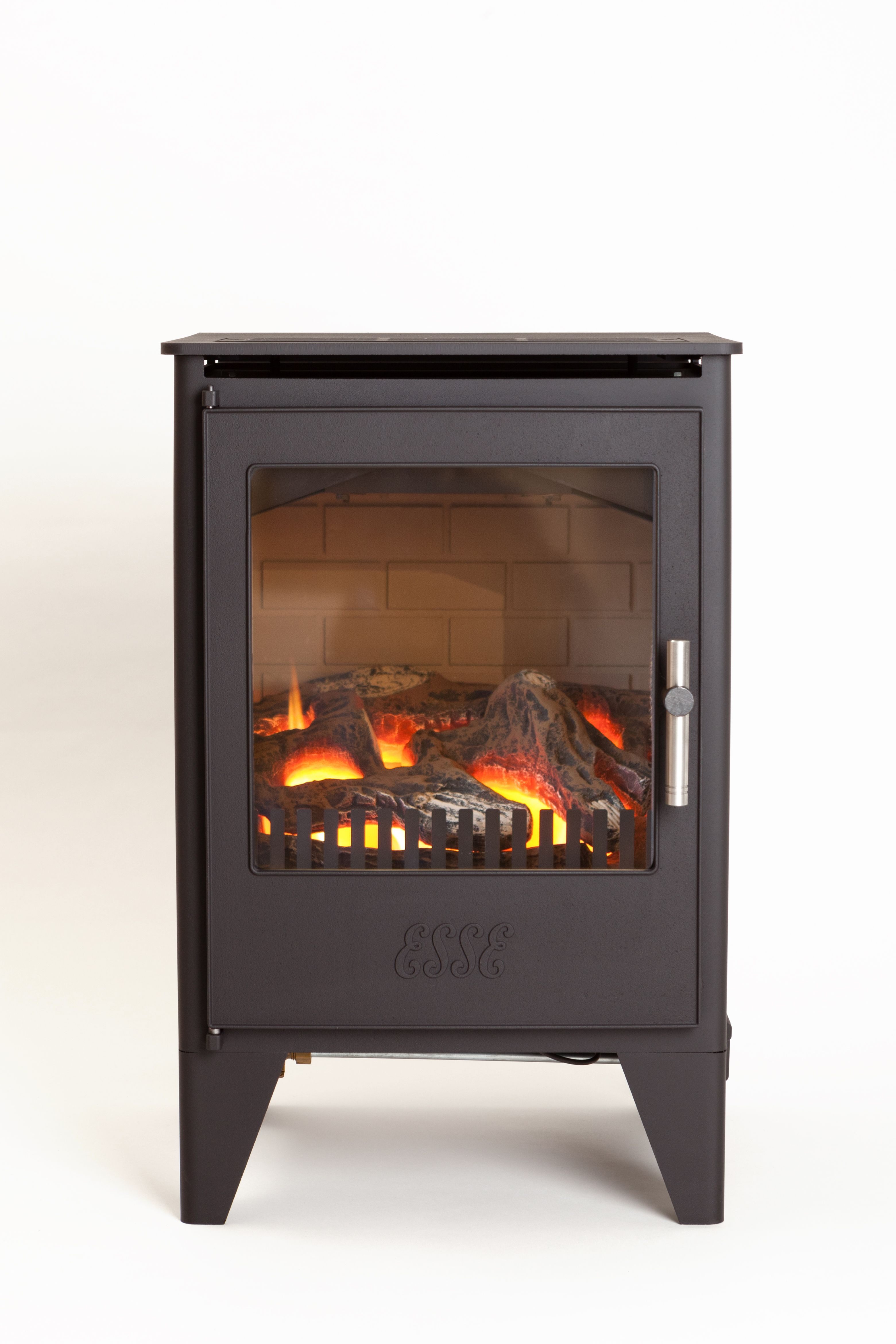 esse 550 flueless gas fire heat output 3 3kw remote control model