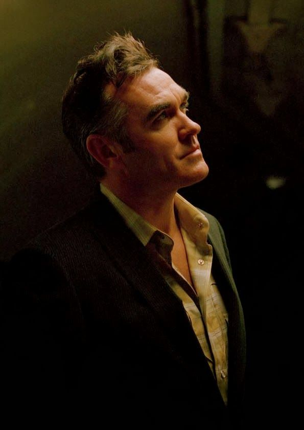 Morrissey photographed by Frank Bauer in 2004. | Morrissey ...