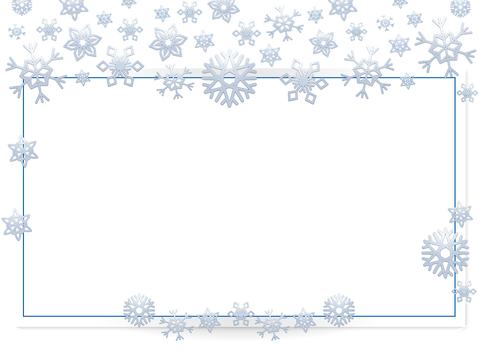 Image Result For Snowflake Border Transparent Free Frames Christmas Photo Cards Image Frame
