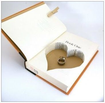 DIY Hollow Book. Great gift idea!