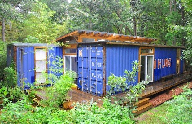 Este Contenedor Oxidado Parece Abandonado. Pero Mira Por Dentro… En Realidad Es Una Casa Encantadora!