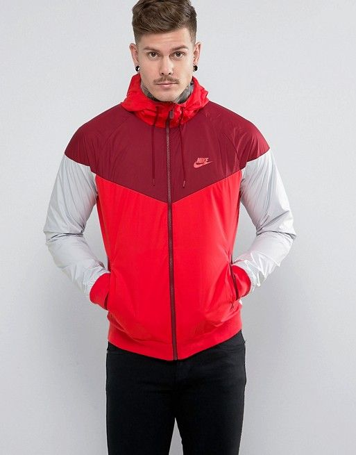 3e1cd3ce08d18 Nike Windbreaker Jacket In Red