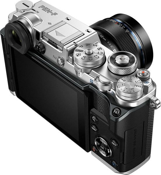Olympus PEN-F Mirrorless Compact Camera (silver) for Street ...
