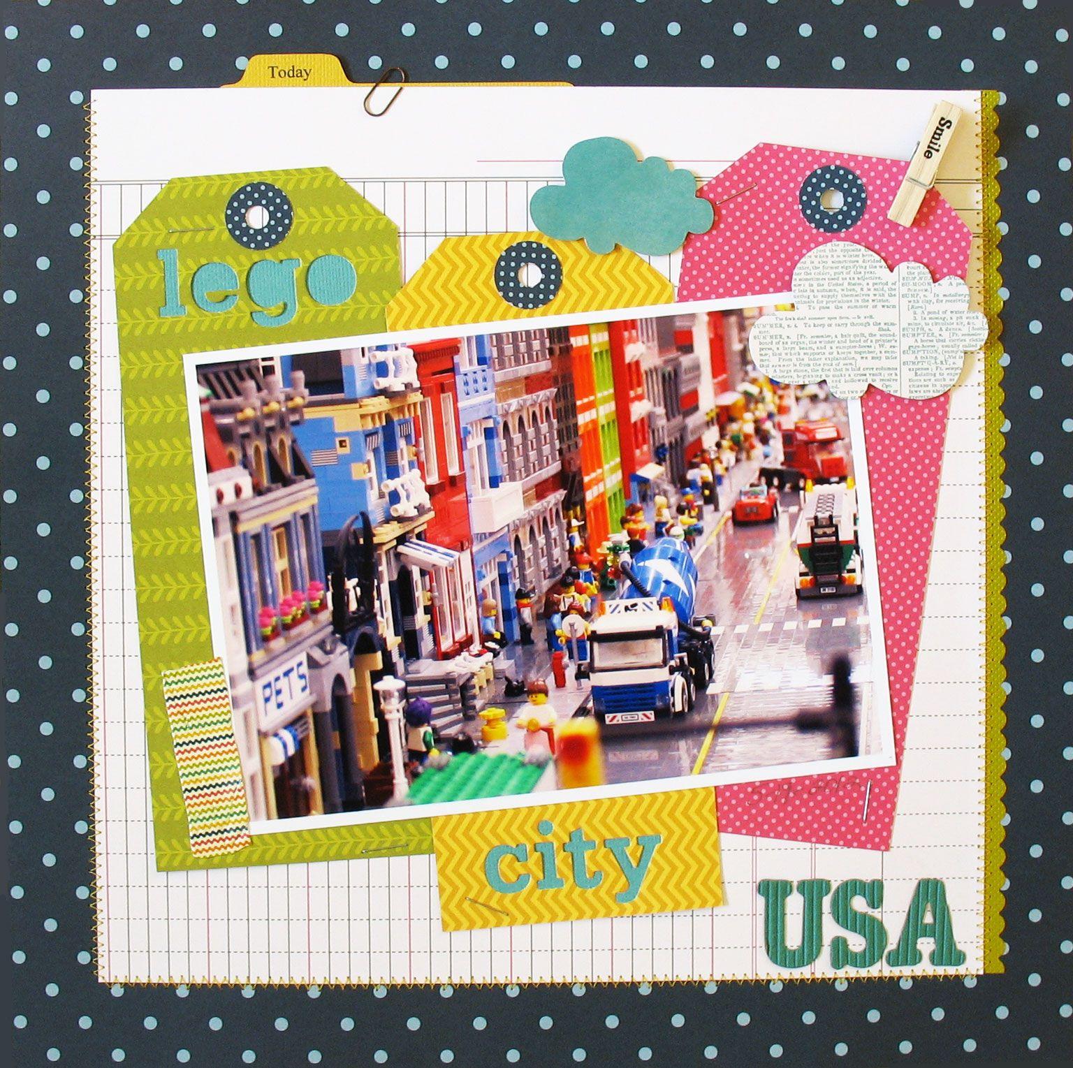 Pebbles Inc Sunnyside Collection By Kathy Martin Lego City