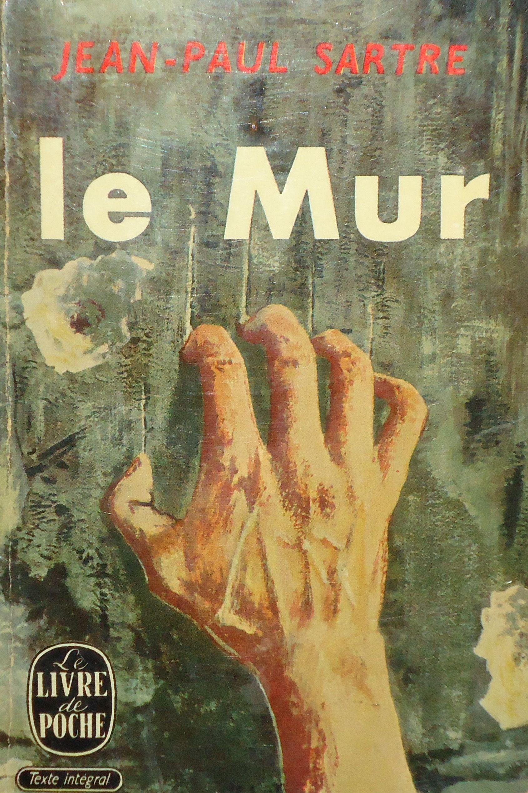 Jean Paul Sartre Le Mur Softcover Book Le Livre De