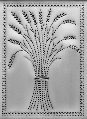 I Like This One Punched Tin Wheat Punched Tin Patterns Punched Tin Tin Can Art
