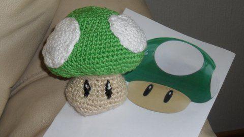 Amigurumi Nintendo : Amigurumi nintendo mushroom my crochet amigurumi