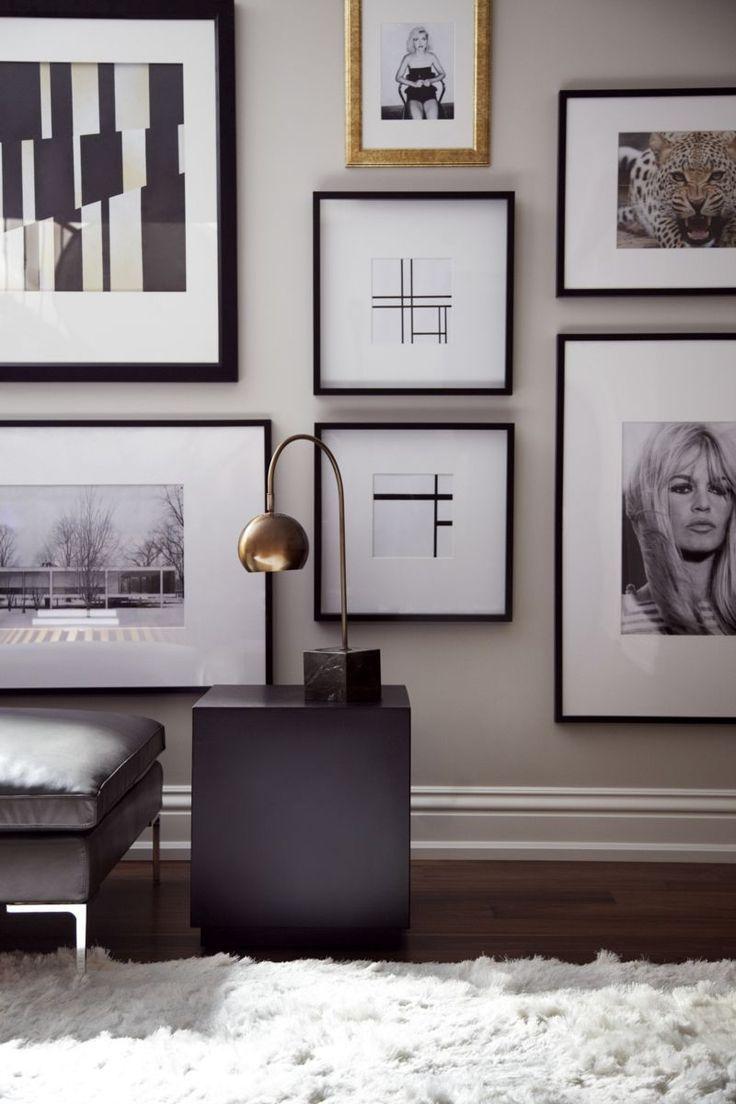 Hello sukio luxe interiors combination of framed artwork and