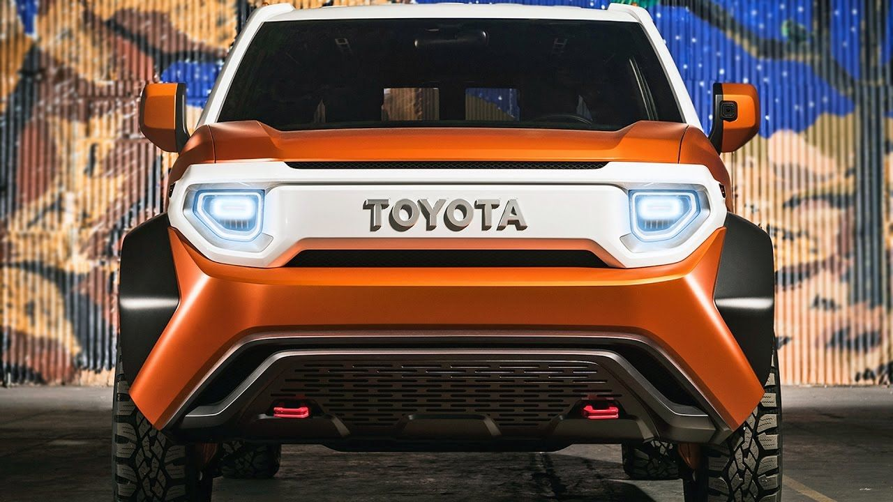 Toyota FT-4X Concept (2017) Future Toyota SUV [YOUCAR]