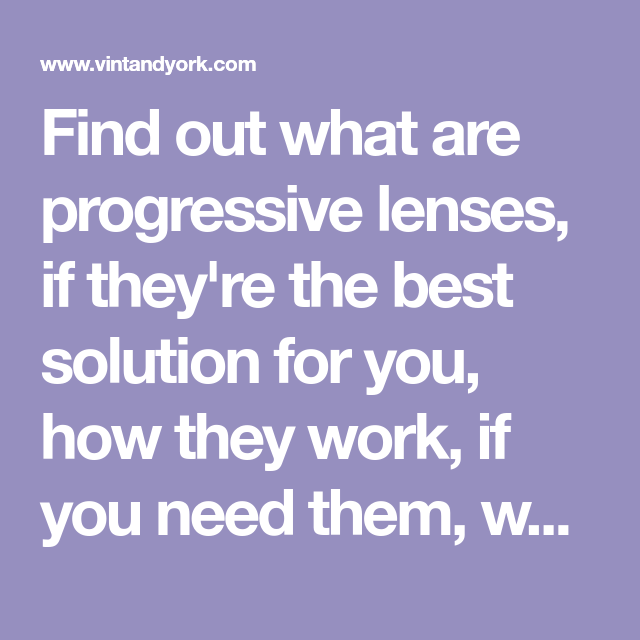 Progressive Lenses Explained Pros Cons You Should Know Eye