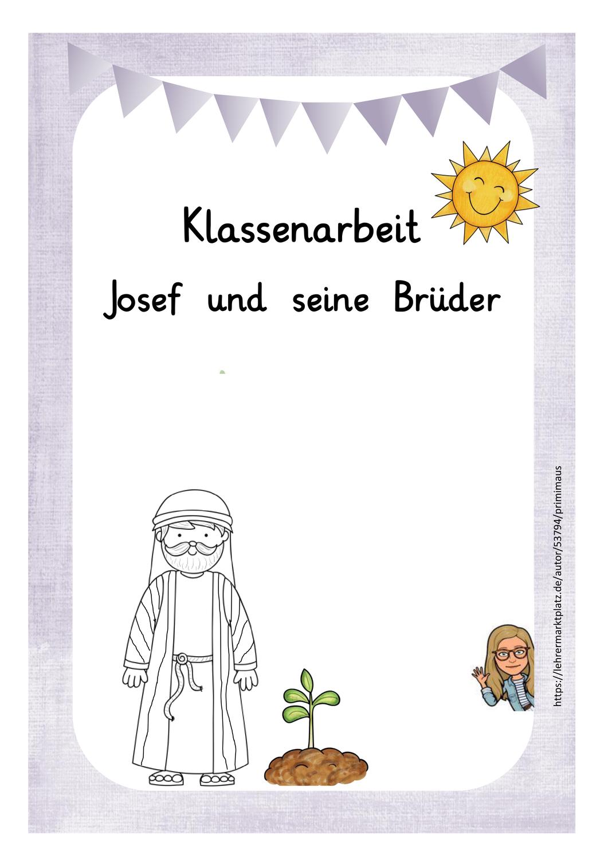 josef und seine brüder grundschule arbeitsblätter  worksheets