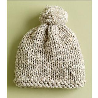 Basic Hat Radiant Hat Pattern By Lion Brand Yarn Knitting Free Knitting Knitted Hats