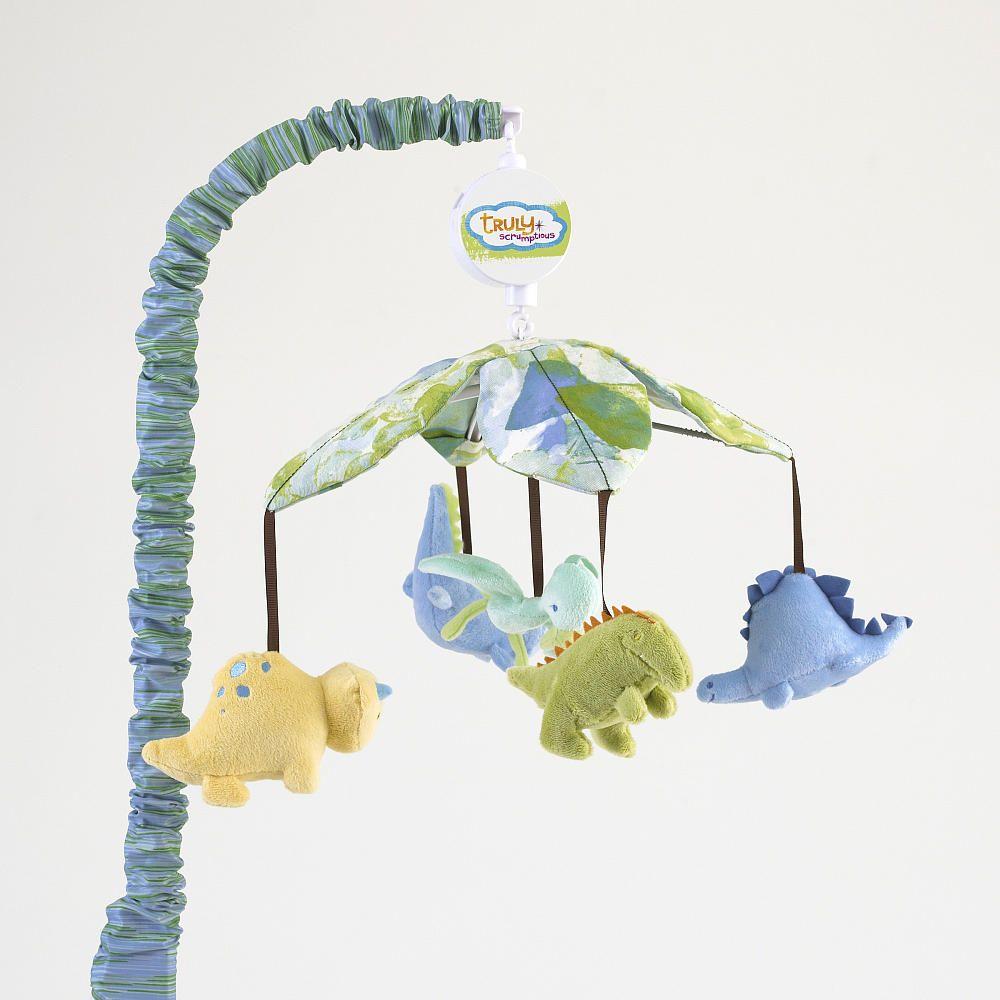 Crib mobile babies r us - Truly Scrumptious Dinosaur Tracks Musical Mobile Heidi Klum Babies R Us