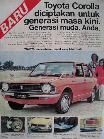 Toyota Corolla Indonesian Adv | Japanese Cars | Pinterest | Toyota on