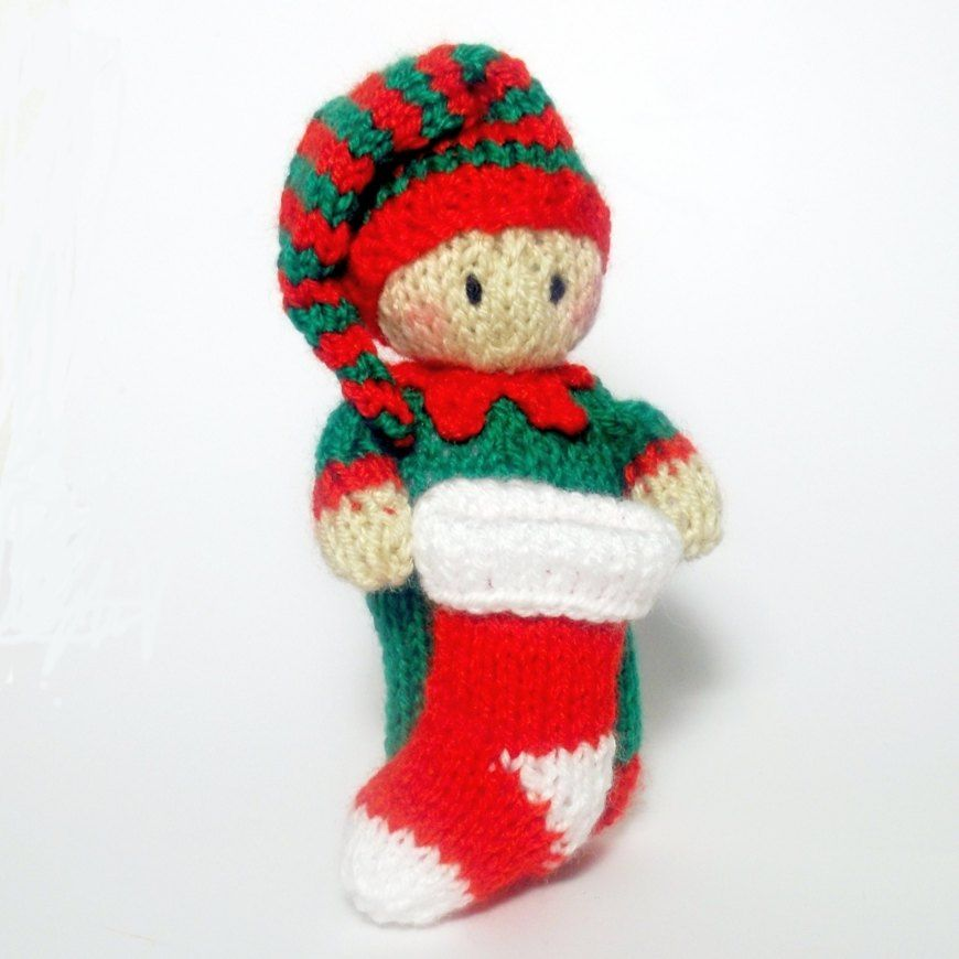 bitsy elf is ready to help santa fill all the stockings on christmas eve i