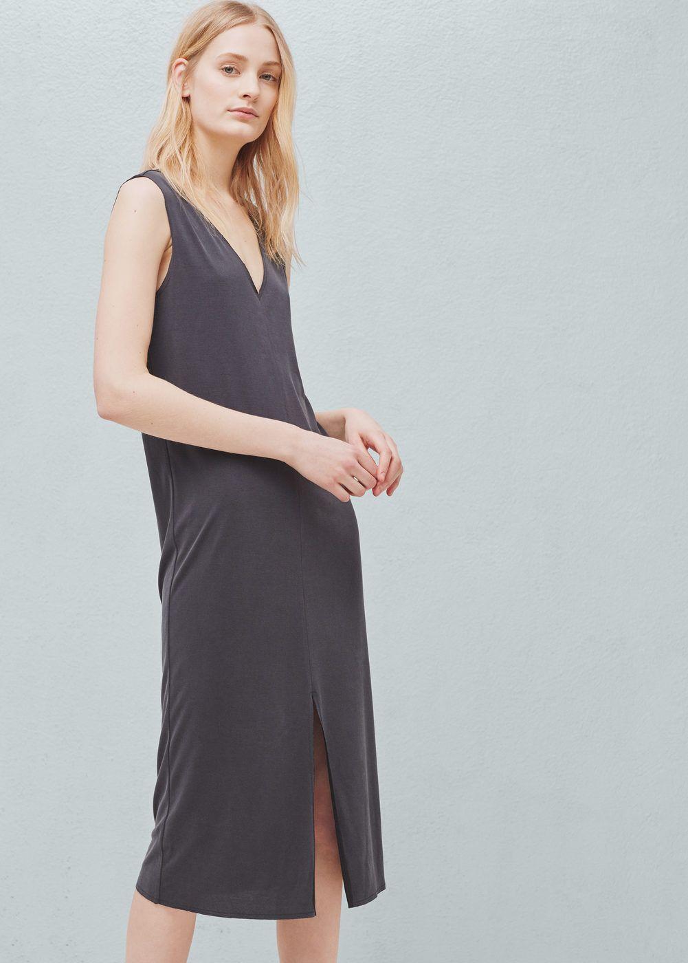 2022950b6bb Vestido de modal - Vestidos de Mulher