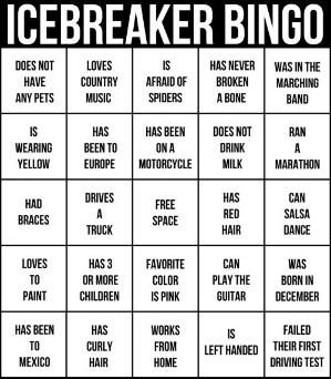 Great Tips On How To Clean Your Car I Totally Need To Do This Family Reunion Games Ice Breakers Bingo Card Template