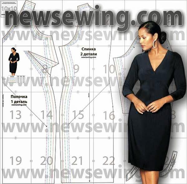 Patron Gratis Vestido Elegante Tallas Grandes Aprender Manualidades Es Facilisimo Com Patrones De Vestidos Vestidos Elegantes Y Sencillos Vestidos Elegantes