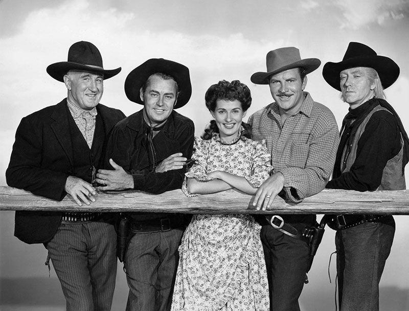 Alan Ladd, Donald Crisp, Brenda Marshall, Robert Preston Frank Faylen -  , Wispering Smith (1948)