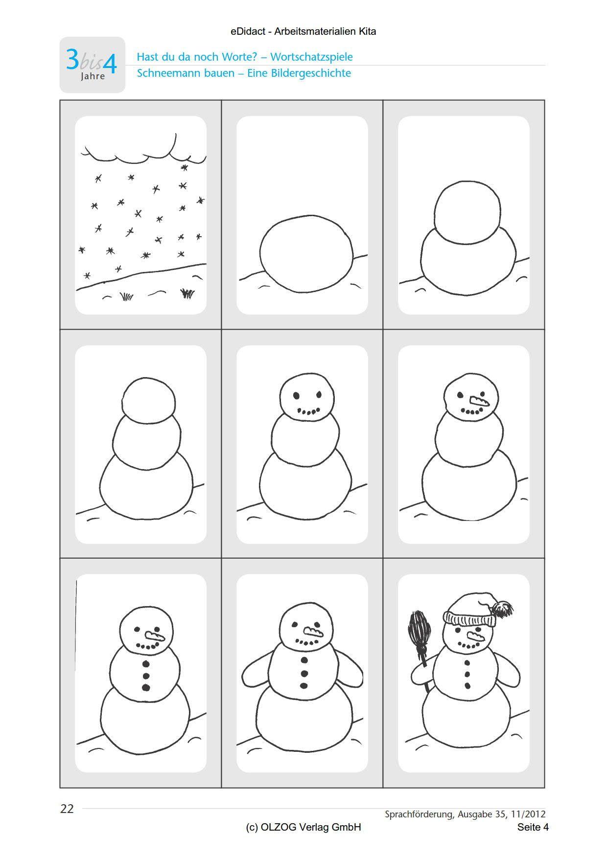 Bildergebnis Fur Arbeitsblatter Kindergarten Winter