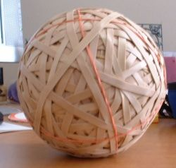 how to make a rubber band ball wikihow