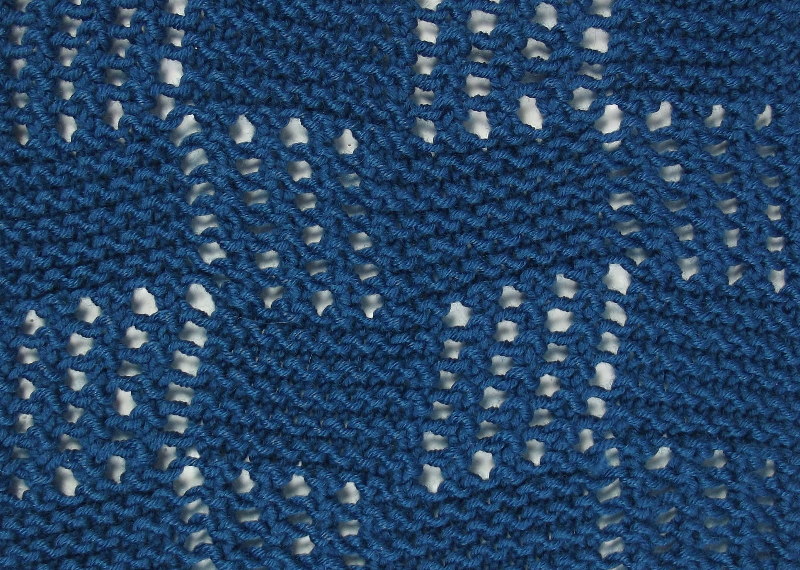 Mesh Blocks is another versitle reversible stitch...perfect for ...