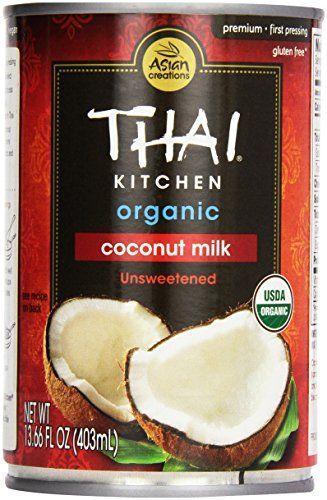 Thai Kitchen Organic Coconut Milk, 13.6 Fl Oz | Organic coconut milk, Organic coconut, Coconut milk