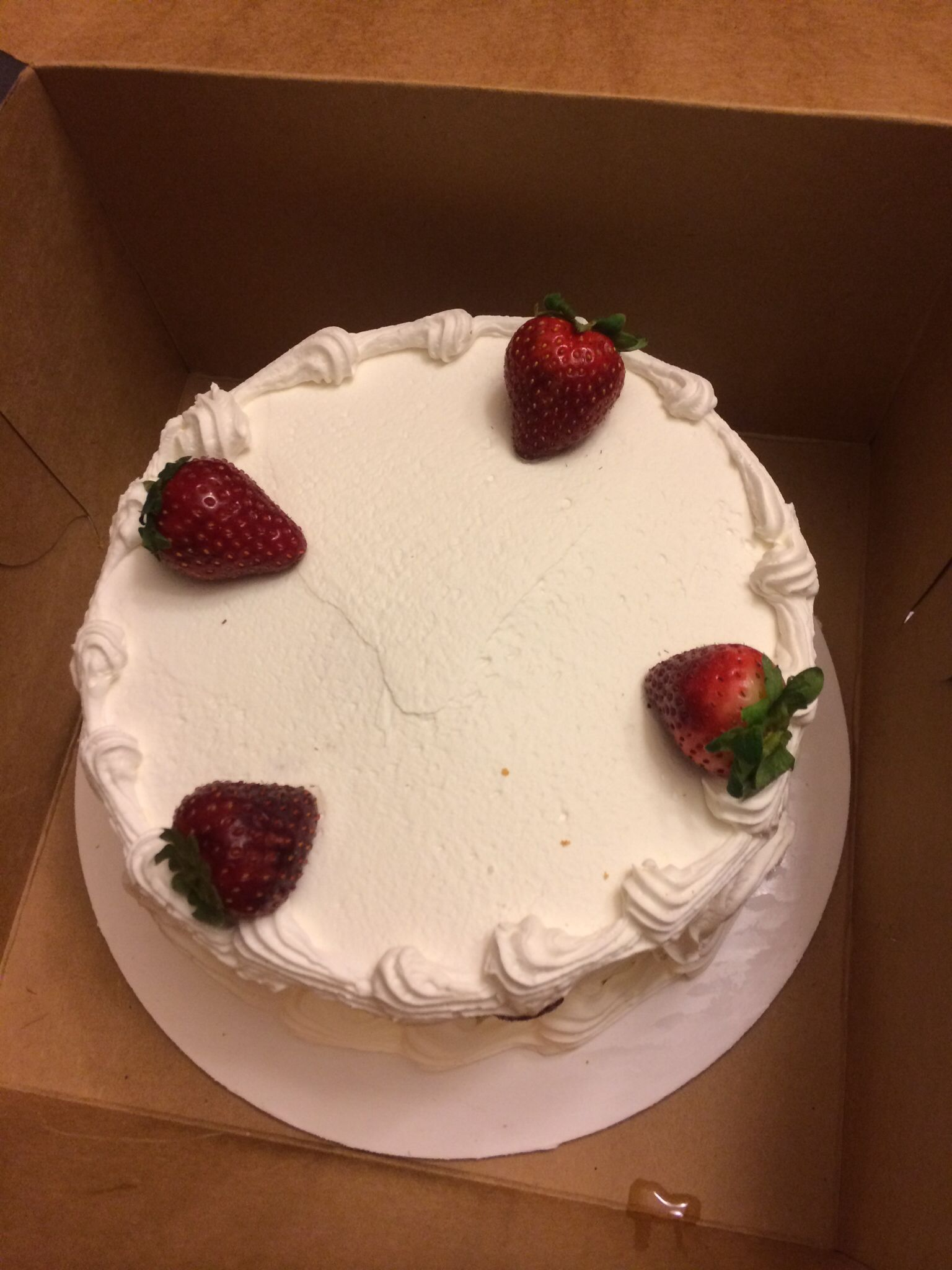My favorite cake! Tripoli's bakery Lawrence, MA.
