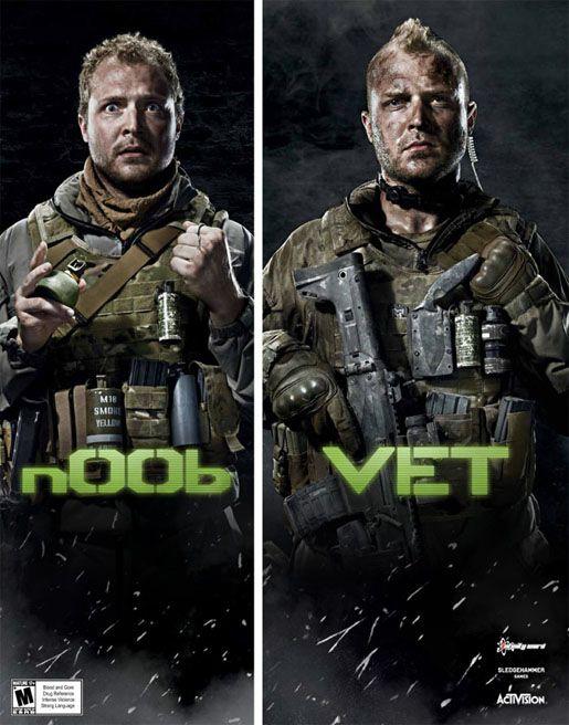 Call of Duty Vet and N00b
