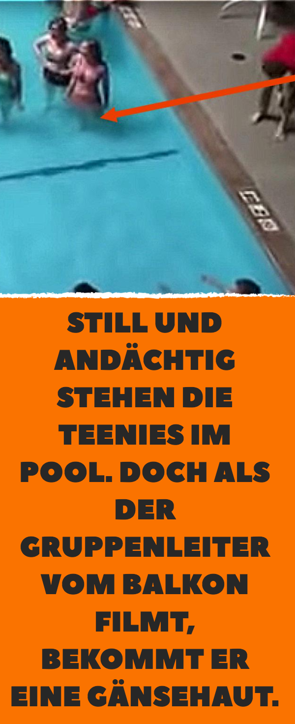 7d7719933a26 Schüler bei spontaner Gesangs-Aktion in Pool gefilmt. | Aktion ...