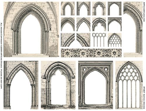 Gothic Arches How Do I Create Them Please