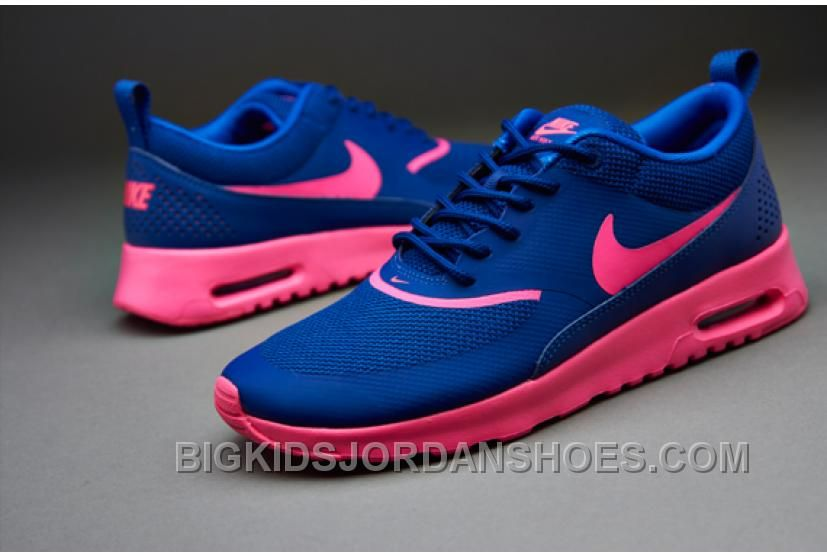 pretty nice 38fde 839c5 Buy the Nike Sportswear Womens Air Max Thea in Deep Royal Blue Hyper Pink Hyper  Cobalt from Pro Direct, the Professional s Choice, and choose from a range  ...