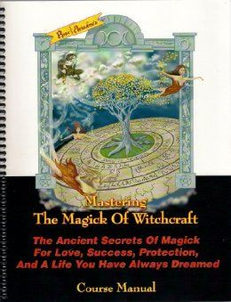 Rose Ariadne is my resident witch guidance counselor and this book can only be bought through her correspondence of witch craft training