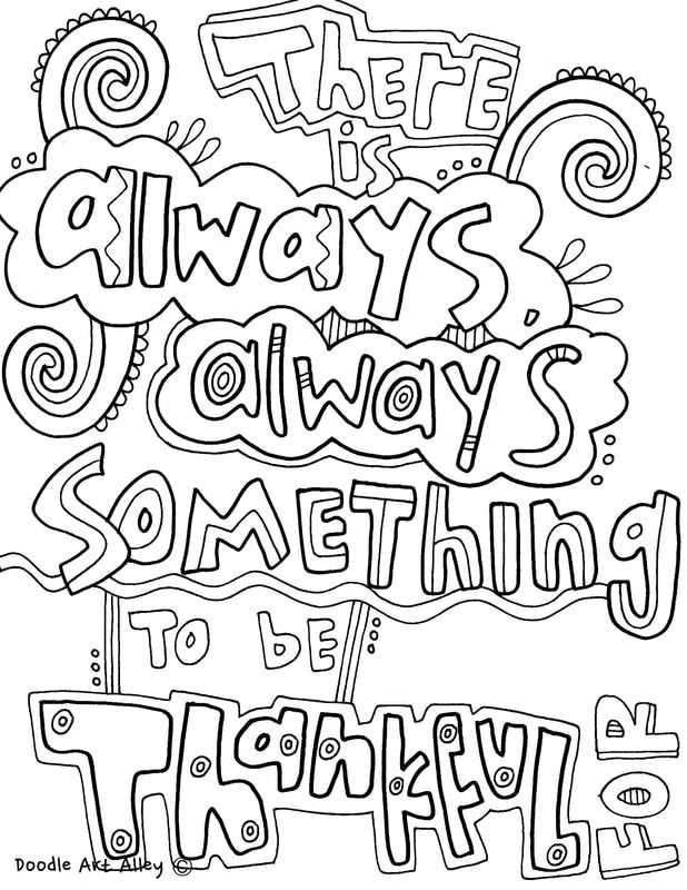 Quote coloring pages from Doodle Art Alley | Quotes | Pinterest ...