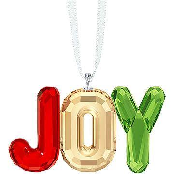 Swarovski Add a joyful sparkle to your holiday decor with this