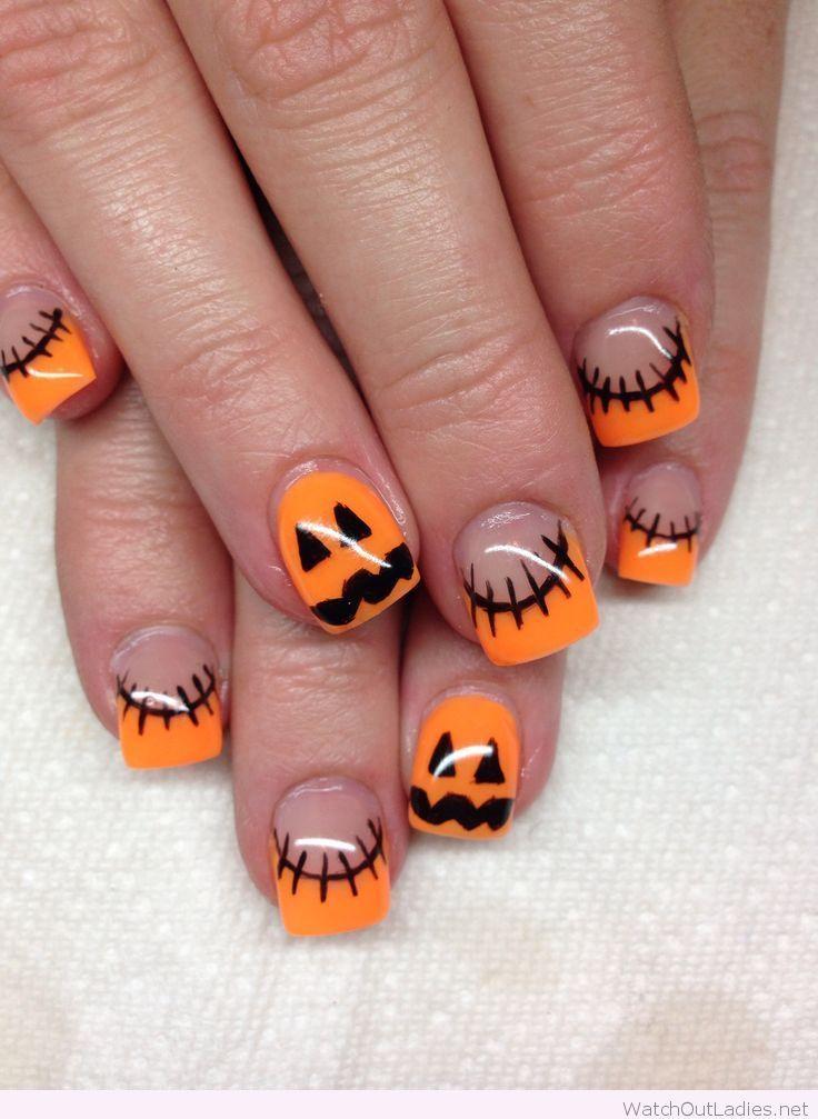 Halloween Acrylic Nails